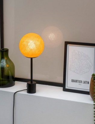 lampe ABACA moutarde