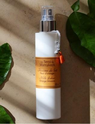 flocon de lait parfum Fleur d'oranger