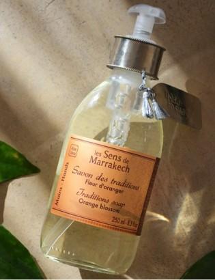 savon liquide fleur d'oranger