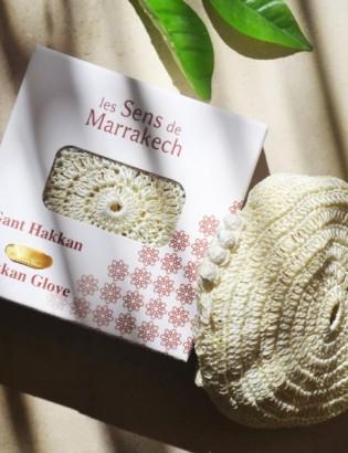 gant exfoliant Hakkan fleur...